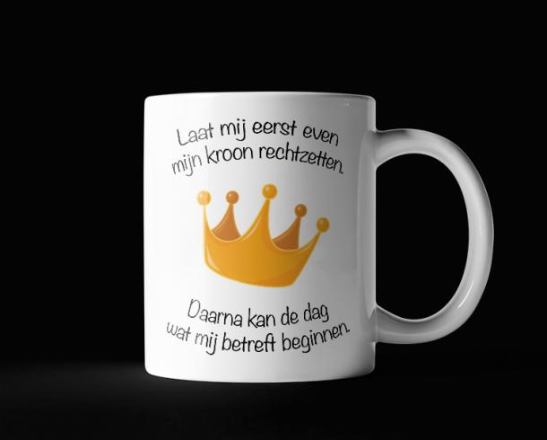 Kroon rechtzetten