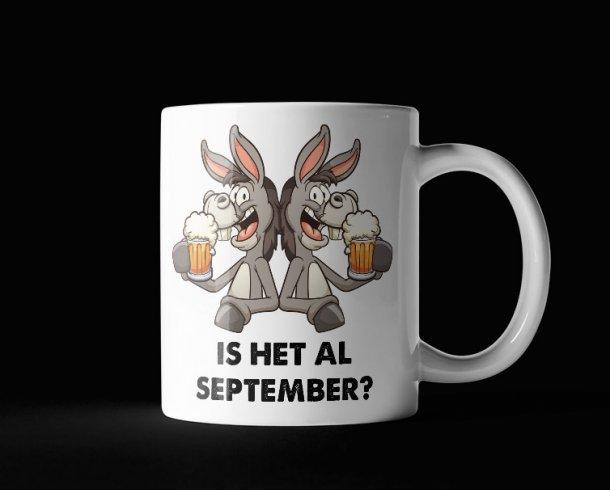 Is het al september?
