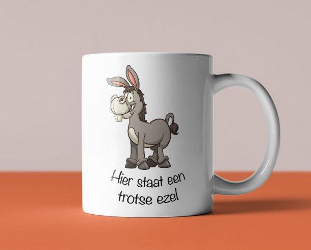 Een echte ezel - Staand